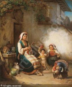 petzold-pezolt-georg-1810-1878-suditalienische-familienidylle-1342416