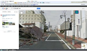 Google Street View in Fukushima