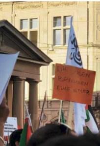 «Sachliche Diskussion»: Kundgebung in Zürich