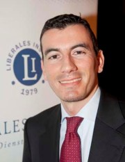Pierre Bessard, Direktor Liberales Institut