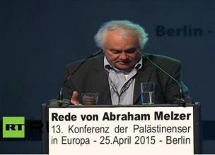 Melzer bei Palästina-Konferenz